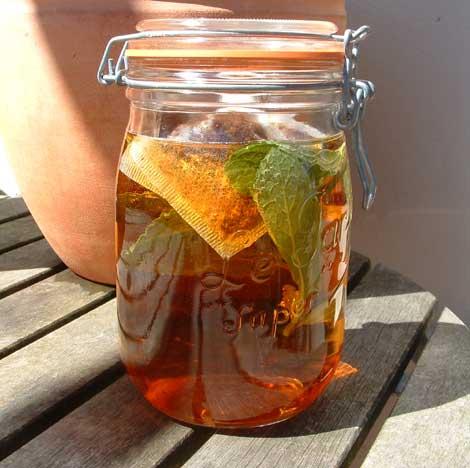 Make your own solar tea