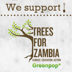 We support Trees for Zambia with Greenpop