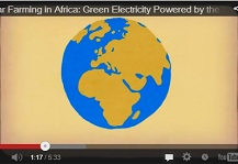 Solar farming in Africa: Green electricity powered by the sun
