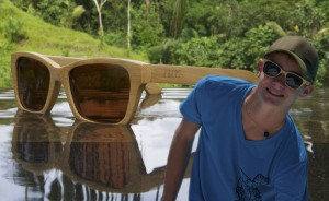sustainable bamboo sunglasses from Seaval