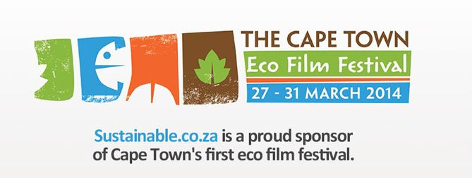 eco film festival banner Cape Towns first Eco Film Festival (and win a green home hamper)